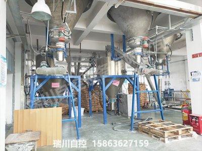 耐火和摩擦材料配料系统