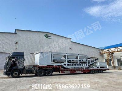 黑龙江客户移动式自动配煤机发货完成